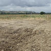 L'area di scavo dopo la chiusura